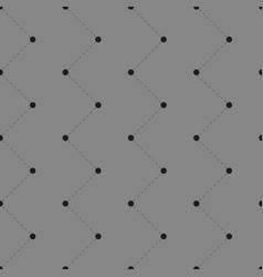 seamless pattern with dots and lines vector image vector image