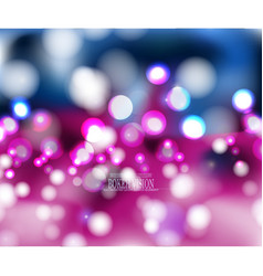 Abstract bokeh vision pink background design ii vector