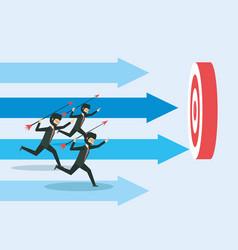 cartoon businessman design vector image