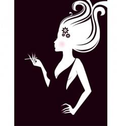 elegance women vector image vector image