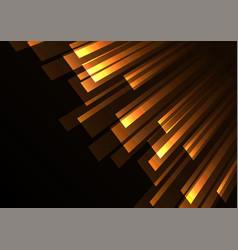 Orange overlap stripe rush in dark background vector