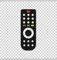 Remote control icon in transparent style infrared vector