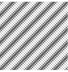 seamless black and white abstract diagonal square vector image