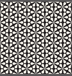 seamless floral mosaic pattern modern vector image