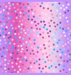 spots violet glitter background vector image