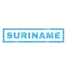 Suriname Rubber Stamp vector image