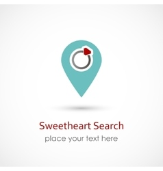 Sweetheart Search vector image