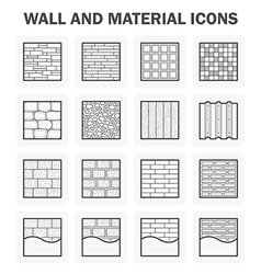 Wall icon vector