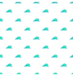 Water wave pattern cartoon style vector