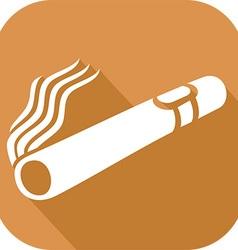 Cuban cigar icon vector