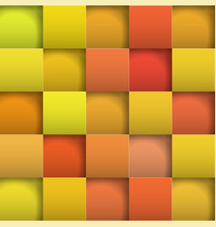 abstract background paper squares vector image vector image
