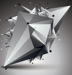 3d mesh modern stylish abstract construction vector