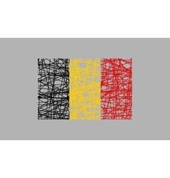 Belgium flag design concept vector image