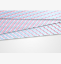 Corporate abstract background with blue pink vector