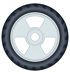 Wheel vector image