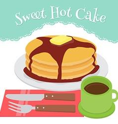 Hotcake vector