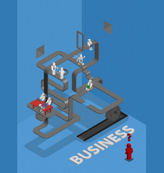 people are thinking of creating a business vector image