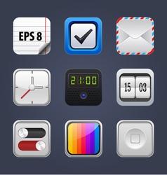 set square app icon vector image