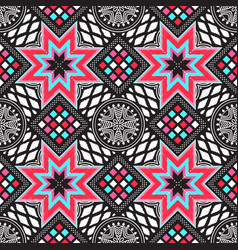 modern abstract pattern vector image