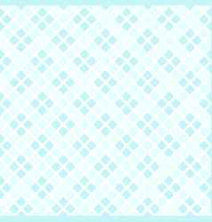 Cyan pastel diamond pattern seamless background vector