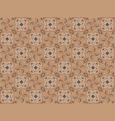 decorative ceramic seamless tiles vector image