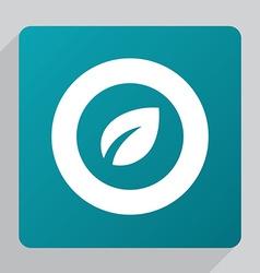 flat plant icon vector image