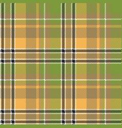 Green yellow fabric pixel texture seamless pattern vector
