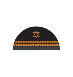 Jewish kippa image vector