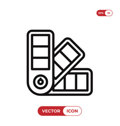 pantone colors icon vector image