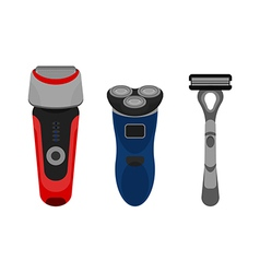 Shavers vector image