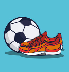 Sports equipment design vector