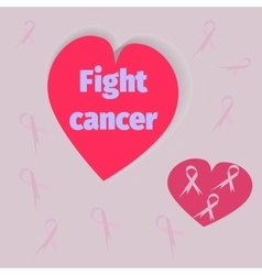 Cancer Awareness Month Banner vector