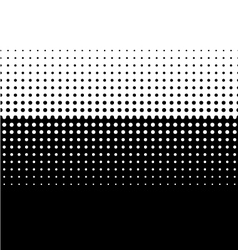Halftone screen gradation vector