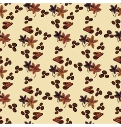 Spaises eamless pattern vector image