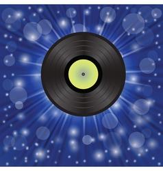 Star music background vector