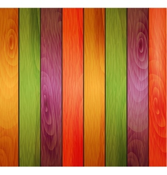 colored wooden background vector image vector image