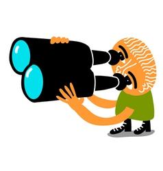 spy man vector image vector image