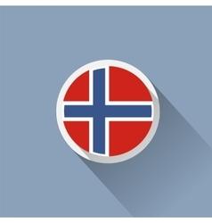 Norway Flag vector image vector image