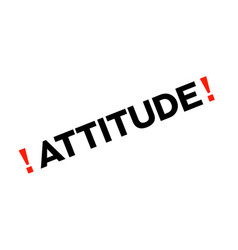 Attitude sticker stamp vector