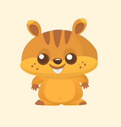 Cartoon marmot vector