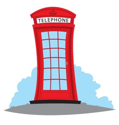English telephone vector image
