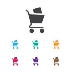 Of shopping symbol on bargain vector