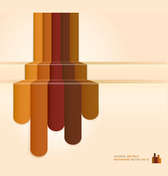 Retro brown color abstract background vector