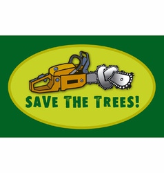 Save the trees vector
