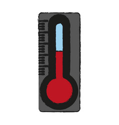 thermometer temperature tool vector image