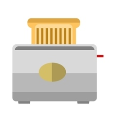 Toaster bread vector image