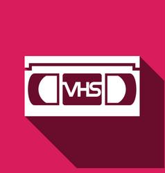 Video tape icon vector