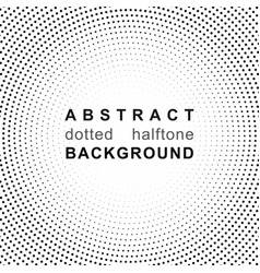 Abstract halftone backgrounds dot radial pattern vector
