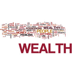 attract the wealth you deserve text background vector image