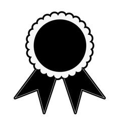 award ribbon symbol vector image